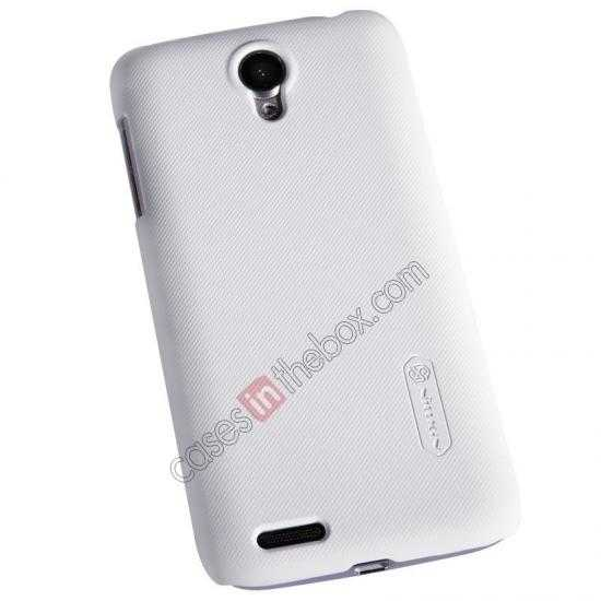 best price Nillkin Super Frosted Shield Plastic Cover Case for Lenovo S650 - White