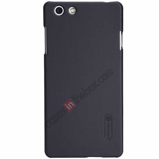 wholesale Nillkin Super Frosted Shield Plastic Cover Case for OPPO R1(R829T) - Black