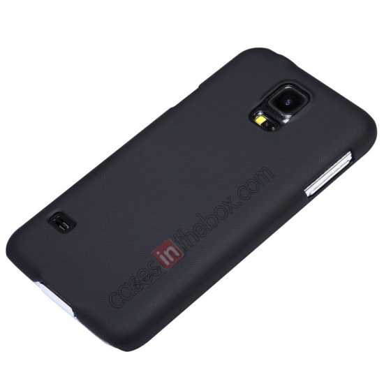 discount Nillkin Super Frosted Shield Plastic Cover Case for Samsung Galaxy S5 G900 - Black