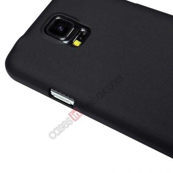 on sale Nillkin Super Frosted Shield Plastic Cover Case for Samsung Galaxy S5 G900 - Black