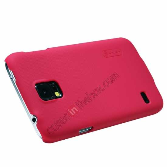 on sale Nillkin Super Frosted Shield Plastic Cover Case for Samsung Galaxy S5 G900 - Red