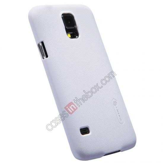 discount Nillkin Super Frosted Shield Plastic Cover Case for Samsung Galaxy S5 G900 - White