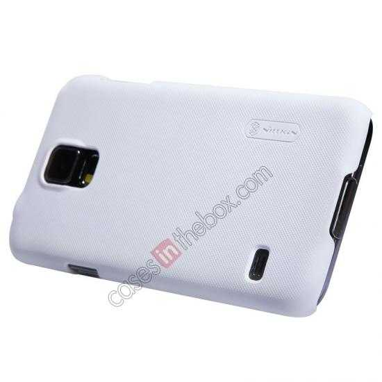 best price Nillkin Super Frosted Shield Plastic Cover Case for Samsung Galaxy S5 G900 - White