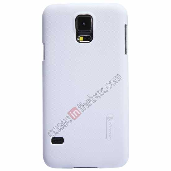 on sale Nillkin Super Frosted Shield Plastic Cover Case for Samsung Galaxy S5 G900 - White