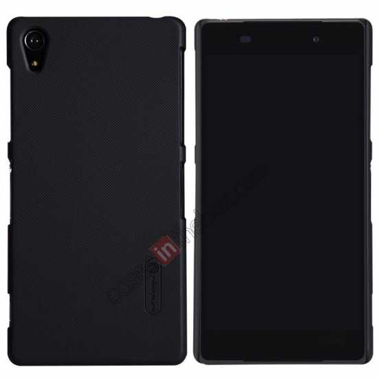wholesale Nillkin Super Frosted Shield Plastic Cover Case for Sony Xperia Z2 L50 - Black
