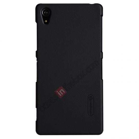 top quality Nillkin Super Frosted Shield Plastic Cover Case for Sony Xperia Z2 L50 - Black