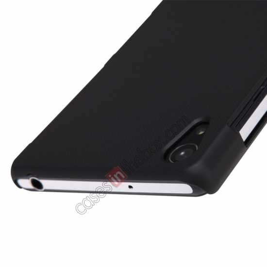 on sale Nillkin Super Frosted Shield Plastic Cover Case for Sony Xperia Z2 L50 - Black
