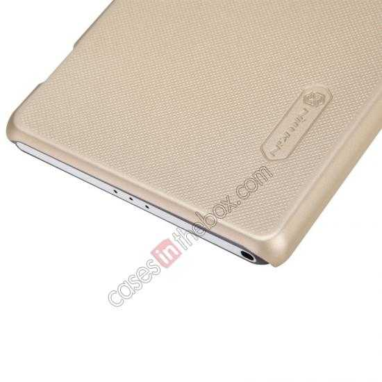best price Nillkin Super Frosted Shield Plastic Cover Case for Sony Xperia Z2 L50 - Golden
