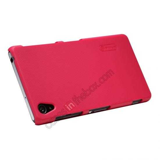 best price Nillkin Super Frosted Shield Plastic Cover Case for Sony Xperia Z2 L50 - Red