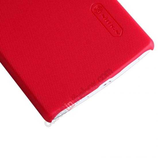 discount NILLKIN Super Frosted Shield Protective Back Cover PC Hard Case For OPPO R827T - Red