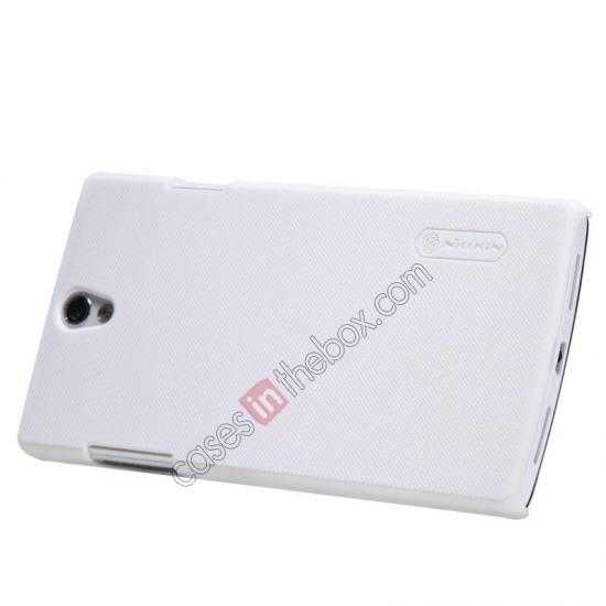 best price NILLKIN Super Frosted Shield Protective Back Cover PC Hard Case For OPPO R827T - White