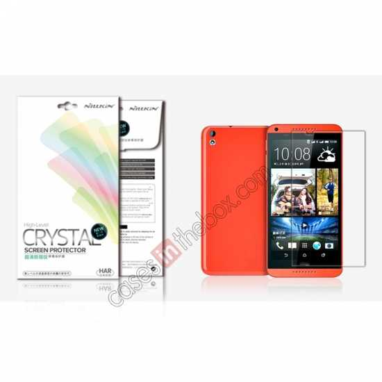 wholesale Nillkin Super High Clear Anti-Fingerprint Screen Protector For HTC Desire 816
