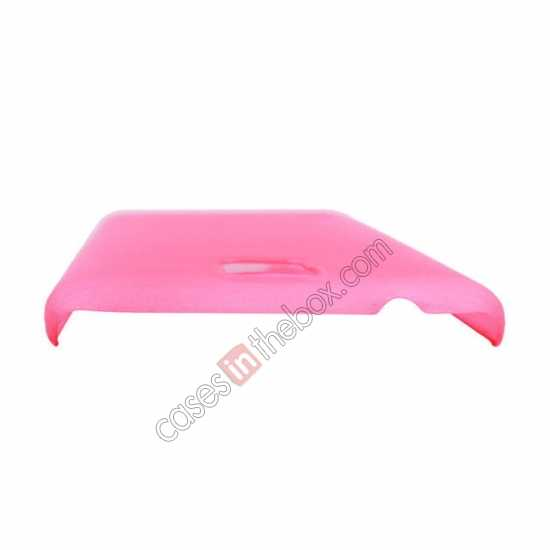 best price Plastic PC Wire Drawing Back Cover Case For Samsung Galaxy S5 - Pink