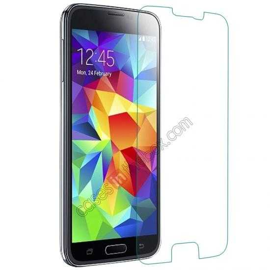 discount Remax 0.23mm 9H Tempered Glass Screen Protector Film for Samsung Galaxy S5 G900
