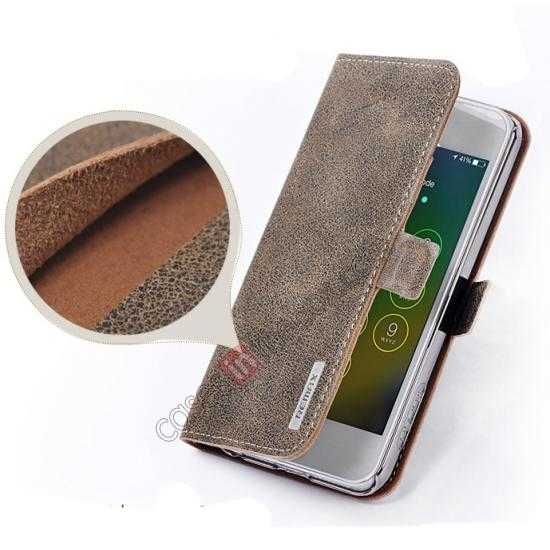 on sale Remax Luxury 100% Genuine Real Cow Leather Case for iPhone 5S/5