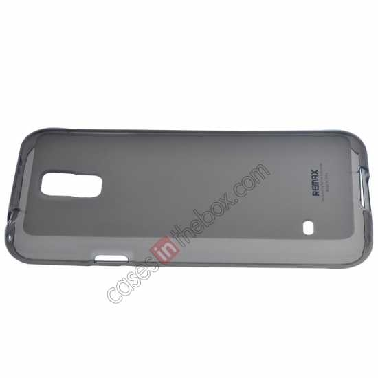discount Remax Super Pudding Series TPU Jelly Gel Case for Samsung Galaxy S5 - Grey