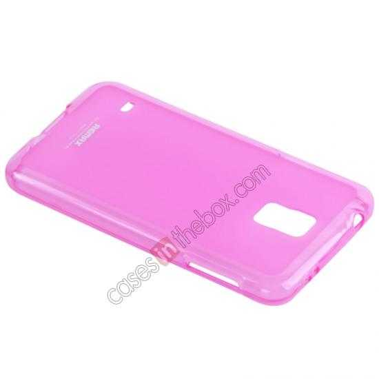 discount Remax Super Pudding Series TPU Jelly Gel Case for Samsung Galaxy S5 - Pink