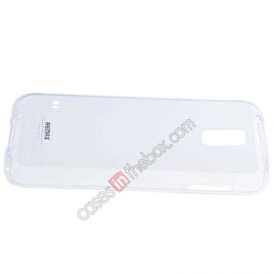 top quality Remax Super Pudding Series TPU Jelly Gel Case for Samsung Galaxy S5 - White