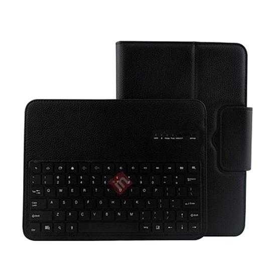 top quality Removable Bluetooth Keyboard Leather Case for Samsung Galaxy Tab Pro 10.1 T520 - Black