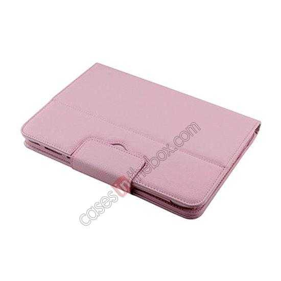 on sale Removable Bluetooth Keyboard Leather Case for Samsung Galaxy Tab Pro 10.1 T520 - Pink