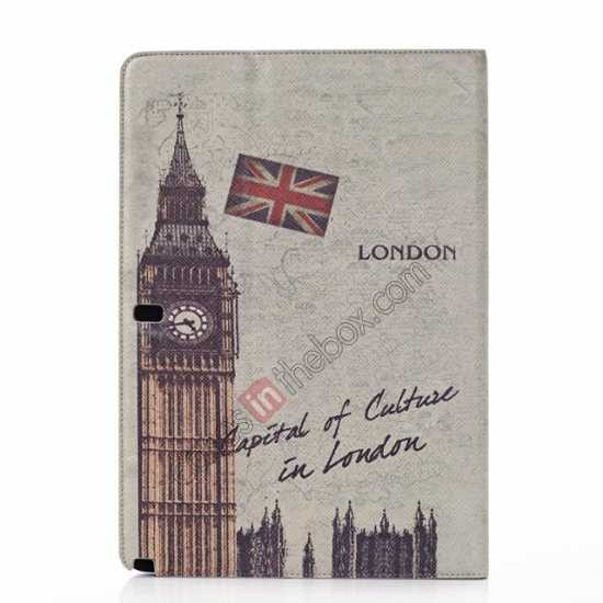 discount Retro Big Ben Pattern Leather Case Cover for Samsung Galaxy Tab Pro 12.2 P900