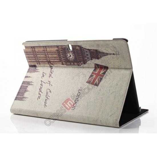 cheap Retro Big Ben Pattern Leather Case Cover for Samsung Galaxy Tab Pro 12.2 P900