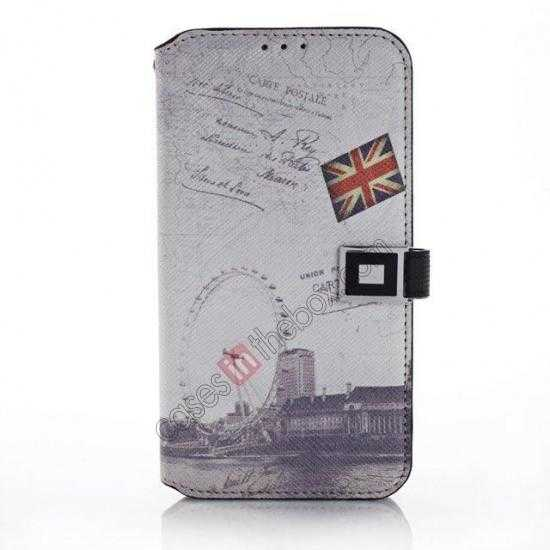 wholesale Retro Folio Wallet Leather Flip Case For Samsung Galaxy S5 G900