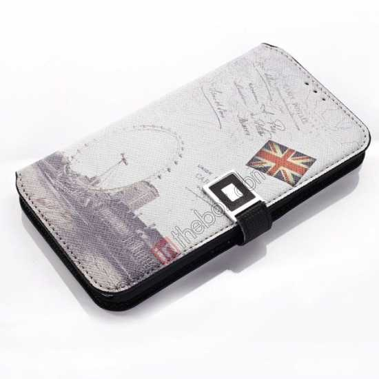 cheap Retro Folio Wallet Leather Flip Case For Samsung Galaxy S5 G900
