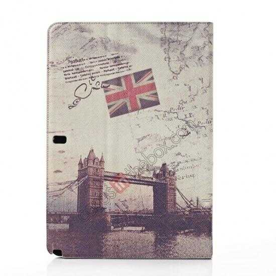 discount Retro London Bridge Pattern Leather Case Cover for Samsung Galaxy Tab Pro 12.2 P900