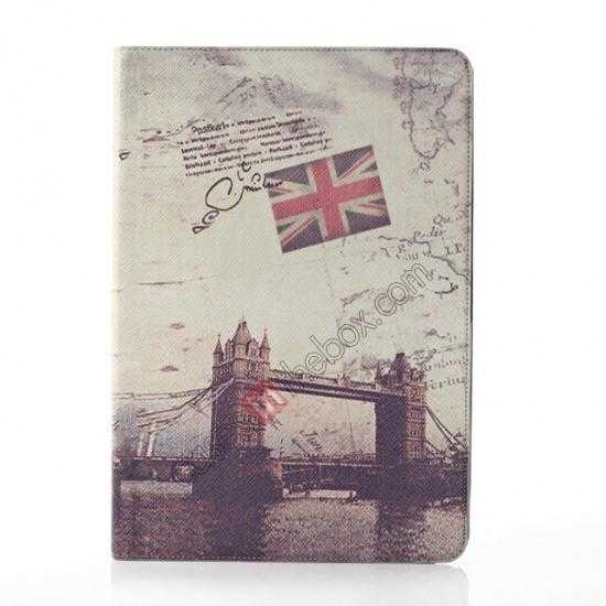 wholesale Retro London Bridge Pattern Leather Case Cover for Samsung Galaxy Tab Pro 12.2 P900