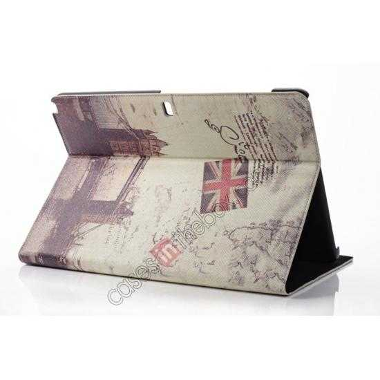 cheap Retro London Bridge Pattern Leather Case Cover for Samsung Galaxy Tab Pro 12.2 P900