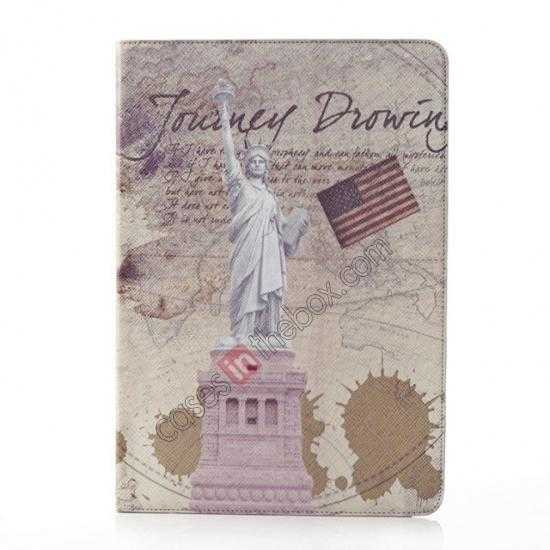 wholesale Retro Statue of Liberty Pattern Leather Case Cover for Samsung Galaxy Tab Pro 12.2 P900