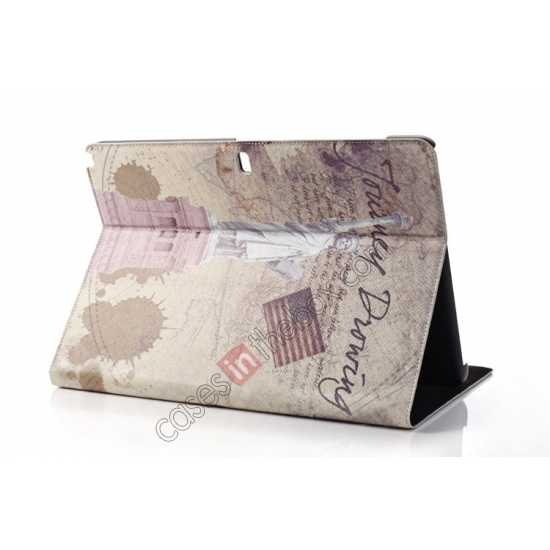cheap Retro Statue of Liberty Pattern Leather Case Cover for Samsung Galaxy Tab Pro 12.2 P900