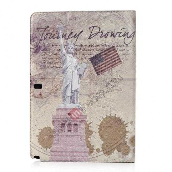 discount Retro Statue of Liberty Pattern Leather Case Cover for Samsung Galaxy Tab Pro 12.2 P900