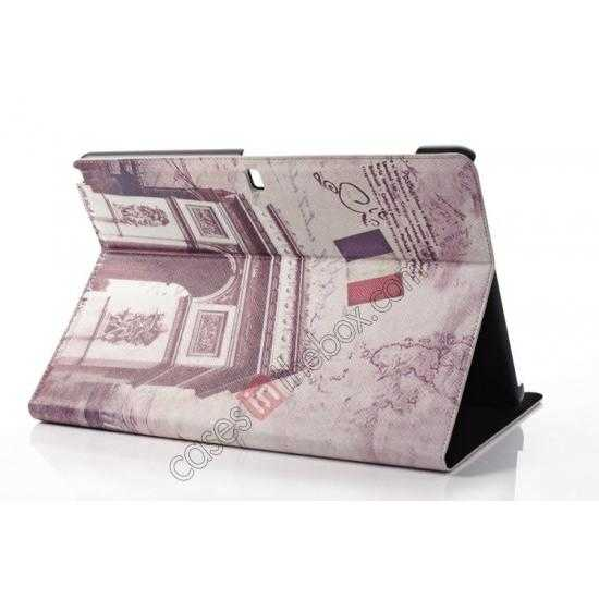 cheap Retro Triumphal Arch Pattern Leather Case Cover for Samsung Galaxy Tab Pro 12.2 P900