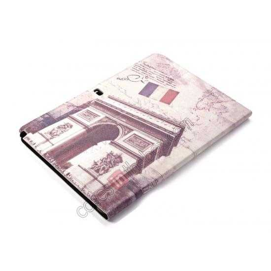 best price Retro Triumphal Arch Pattern Leather Case Cover for Samsung Galaxy Tab Pro 12.2 P900