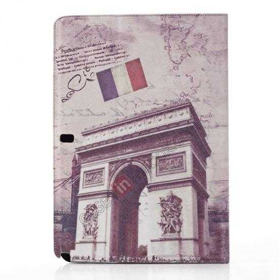 discount Retro Triumphal Arch Pattern Leather Case Cover for Samsung Galaxy Tab Pro 12.2 P900