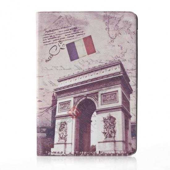 wholesale Retro Triumphal Arch Pattern Leather Case Cover for Samsung Galaxy Tab Pro 12.2 P900
