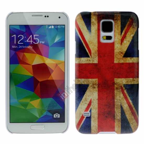 wholesale Retro UK Flag Hard Back Case Cover for Samsung Galaxy S5