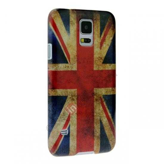 discount Retro UK Flag Hard Back Case Cover for Samsung Galaxy S5