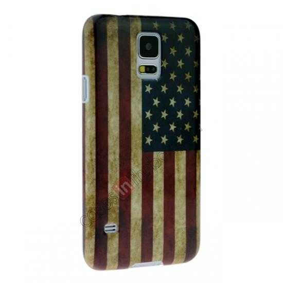 discount Retro USA Flag Hard Back Case Cover for Samsung Galaxy S5