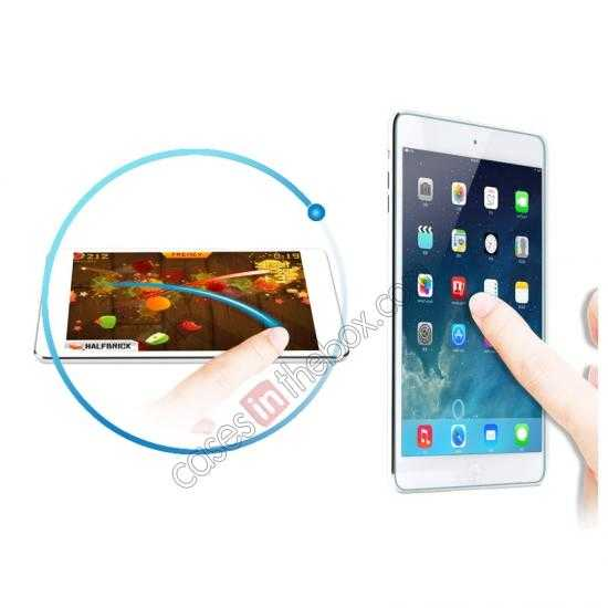 discount Rock 0.3MM Ultra-thin Tempered Glass Screen Protector for iPad Mini 2 Retina