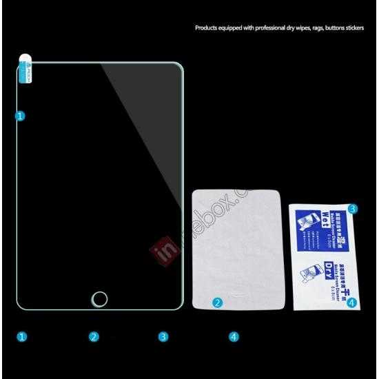 low price Rock 0.3MM Ultra-thin Tempered Glass Screen Protector for iPad Mini 2 Retina