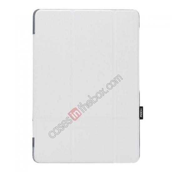 wholesale Rock Elegant Series Leather Stand Case for Samsung Galaxy Tab Pro 12.2 P900 With Wake/Sleep - White
