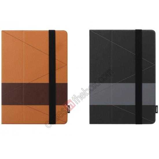 low price Rock Fashion New Leather Stand Case for Samsung Galaxy Tab Pro 12.2 P900 - Black