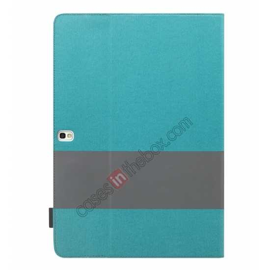 top quality Rock Fashion New Leather Stand Case for Samsung Galaxy Tab Pro 12.2 P900 - Blue