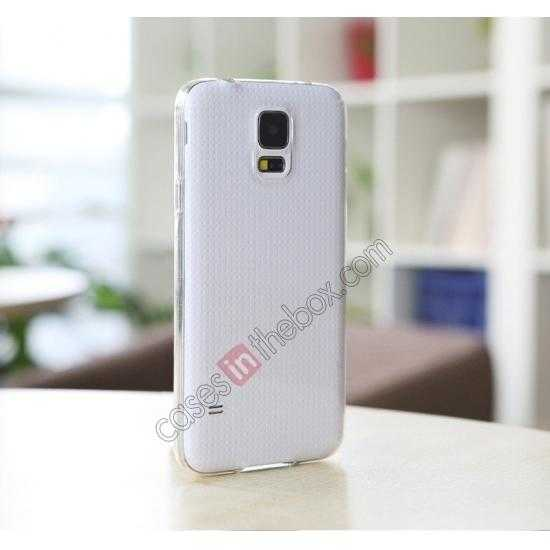 top quality Rock PC 0.6mm Ultra Thin Back Case Cover for Samsung Galaxy S5 - Transparent