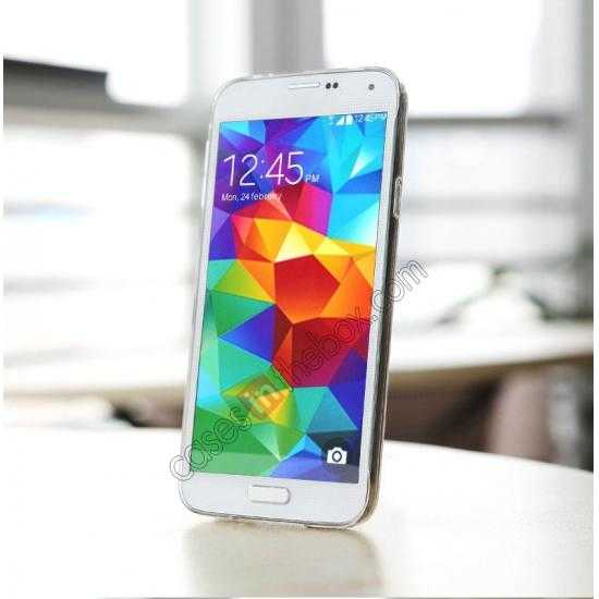 best price Rock PC 0.6mm Ultra Thin Back Case Cover for Samsung Galaxy S5 - Transparent
