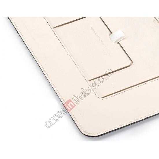 best price Rock Reach Series 100% Real Genuine Cowhide Leather Case for iPad Mini 2 Retina