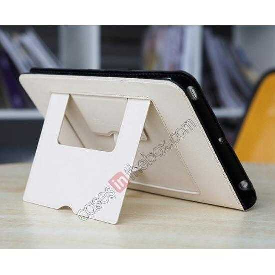 on sale Rock Reach Series 100% Real Genuine Cowhide Leather Case for iPad Mini 2 Retina